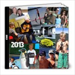 Donisons 2013 - 8x8 Photo Book (100 pages)