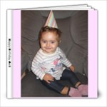 miri book - 8x8 Photo Book (20 pages)