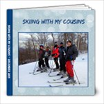 Skiing with my cousins - 8x8 Photo Book (20 pages)