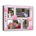 Romance Deluxe Canvas 20x16 (stretched) - Deluxe Canvas 20  x 16  (Stretched)