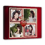 Love Deluxe Stretched Canvas (24 x 20) - Deluxe Canvas 24  x 20  (Stretched)