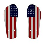 US Flag - Kids  Flip Flops