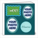 Sweet Memories 8X8 album - 8x8 Photo Book (20 pages)