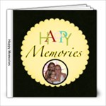 Happy Memories 8X8 album - 8x8 Photo Book (20 pages)