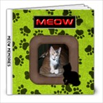 Meow Memories 8X8 album  - 8x8 Photo Book (20 pages)