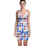 Happy 4th of July bodycon dress