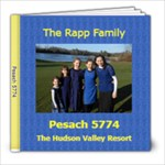 pesach 5774 - 8x8 Photo Book (20 pages)