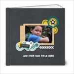 6x6 : Boys will be Boys (Multi-Frames) - 6x6 Photo Book (20 pages)