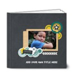 6x6 (DELUXE) : Boys will be Boys (Multi-Frames) - 6x6 Deluxe Photo Book (20 pages)