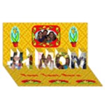 #1 Mom Card 2 - #1 MOM 3D Greeting Cards (8x4)