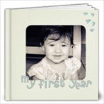 My first year 12x12 photo book - 12x12 Photo Book (20 pages)