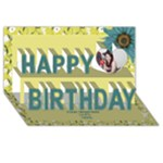 Friends 3D Birthday Card - Happy Birthday 3D Greeting Card (8x4)