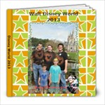 Disney 2013 - 8x8 Photo Book (20 pages)