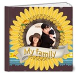 family - 8x8 Deluxe Photo Book (20 pages)