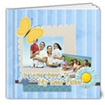 dad, fathers day, boy, man, fun, family, happy - 8x8 Deluxe Photo Book (20 pages)