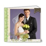 Wedding Blue Book - 6x6 Deluxe Photo Book (20 pages)