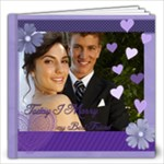 Wedding purple Book - 12x12 Photo Book (20 pages)