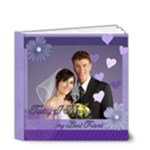 Wedding purple Book - 4x4 Deluxe Photo Book (20 pages)