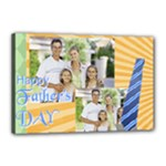 fathers day - Canvas 18  x 12  (Stretched)