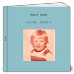 Wayne - 12x12 Photo Book (20 pages)