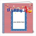 Happy 4th of July - 8x8 Photo Book (20 pages)