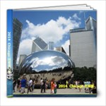 2014 chicago (黑体字) - 8x8 Photo Book (39 pages)