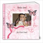 Hailey - 8x8 Photo Book (20 pages)