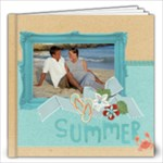 Summer Vacation - Beach - 12x12 Photo Book - 12x12 Photo Book (20 pages)