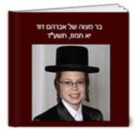 bar mitzvah mommy - 8x8 Deluxe Photo Book (20 pages)