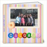calgary - 8x8 Photo Book (20 pages)