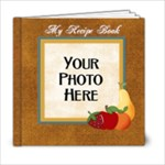 Recipe Book-At the Park - 6x6 Photo Book (20 pages)