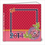 Year In Review - Colorful - 8x8 Photo Book (20 pages)