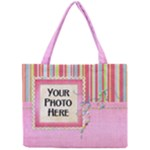 Patches tiny tote - Mini Tote Bag