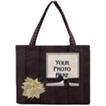 Winters Walk tiny tote - Mini Tote Bag