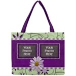 Lavender Rain tiny tote - Mini Tote Bag