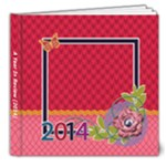 A Year In Review - Colorful - 8x8 Deluxe Photo Book (20 pages)