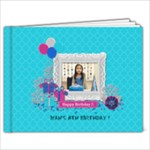 7x5: Glittery Birthday (BRAG BOOK) - 7x5 Photo Book (20 pages)