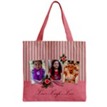 Grocery Tote Bag : Live Laugh Love