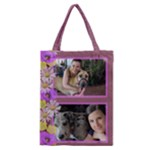 Purple Poppy Classic Tote Bag