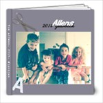 The Allens 2014 - 8x8 Photo Book (20 pages)