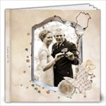 Joanna and Tim Wedding - 12x12 Photo Book (20 pages)