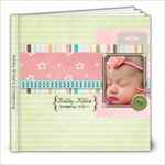 Ashley Khloe Christening - 8x8 Photo Book (20 pages)
