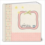 Baby Girl Scrapbook - 8x8 Photo Book (20 pages)