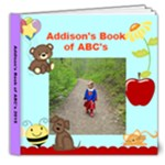 abcbook - 8x8 Deluxe Photo Book (20 pages)