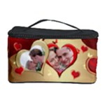 Hearts Cosmetic Storage Case