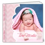 Baby Evelyn - 8x8 Deluxe Photo Book (20 pages)