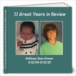 Anthony- 10 years - 12x12 Photo Book (20 pages)