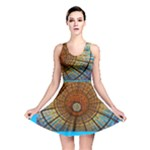 Gaudi stained glass skater - Reversible Skater Dress