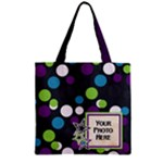 Diz Space Story Zipper Tote 1 - Zipper Grocery Tote Bag