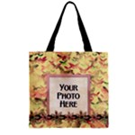 Girl Power Zipper Tote 1 - Zipper Grocery Tote Bag